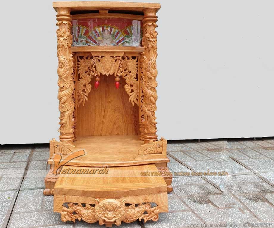 Mẫu bàn thờ thần tài đẹp