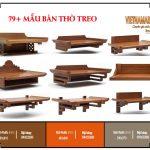 Bộ sưu tập 89+ mẫu bàn thờ treo chuẩn lỗ ban – Tài lộc dồi dào từ Vietnamarch