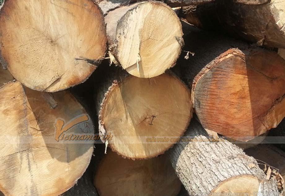 Bàn thờ đứng gỗ sồi
