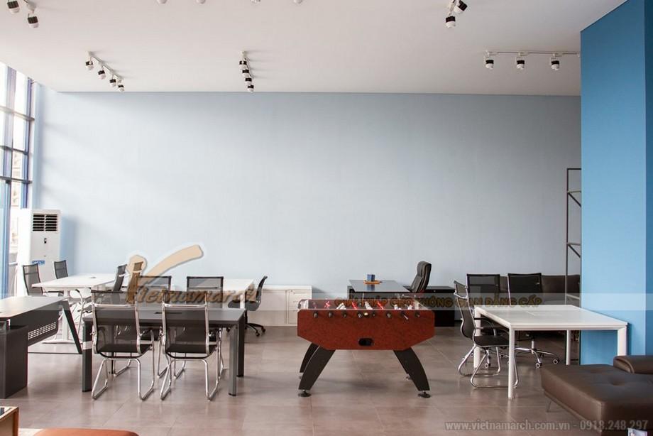 Mẫu thiết kế văn phòng 500m2 cho công ty nội thất Dcor Việt Nam