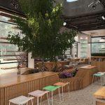 Thiết kế văn phòng 50 chỗ cho công ty điện tử HP Hưng Yên
