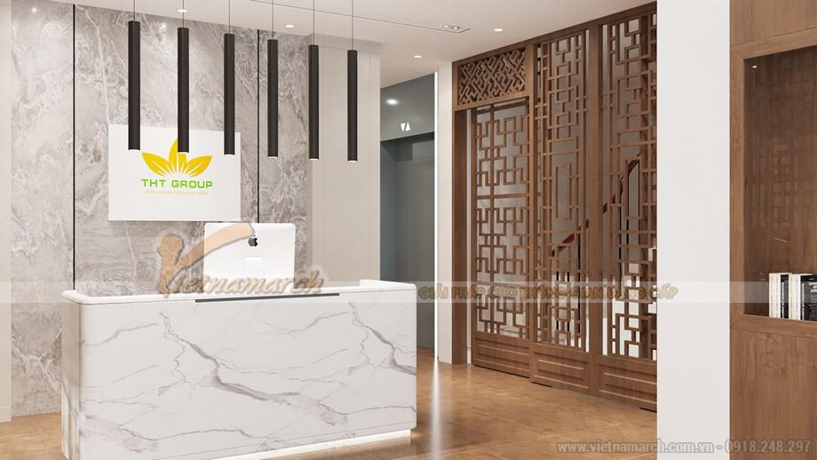 Thiết kế văn phòng xây dựng THT đẹp