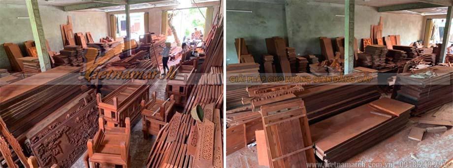 Xưởng sản xuất bàn thờ