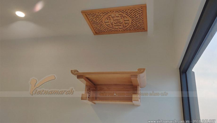Bàn thờ treo tường 41x61cm chân chữ Thọ