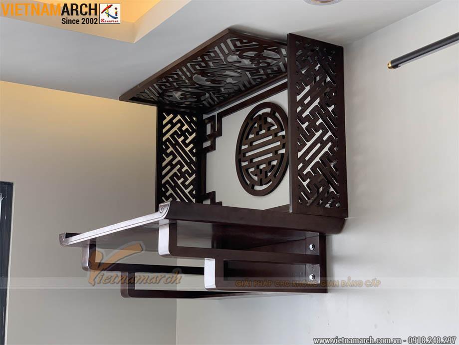 Bàn thờ treo tường đẹp kích thước 48x69cm