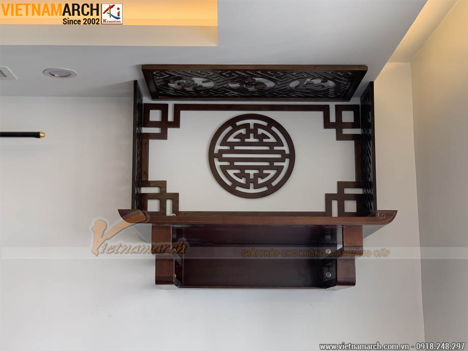 Bàn thờ treo tường đẹp 48x69cm