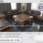 [HÀNG CAO CẤP] Mẫu sofa gỗ hiện đại phù hợp với hình thể người Việt SFG20