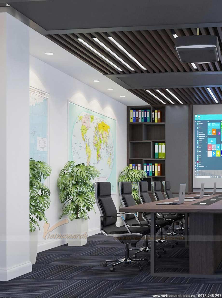 Mẫu thiết kế văn phòng 40m2 - văn phòng đại sứ quán