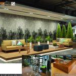 Dự án thiết kế nội thất văn phòng coworking space 2000m2 CENXSPACE