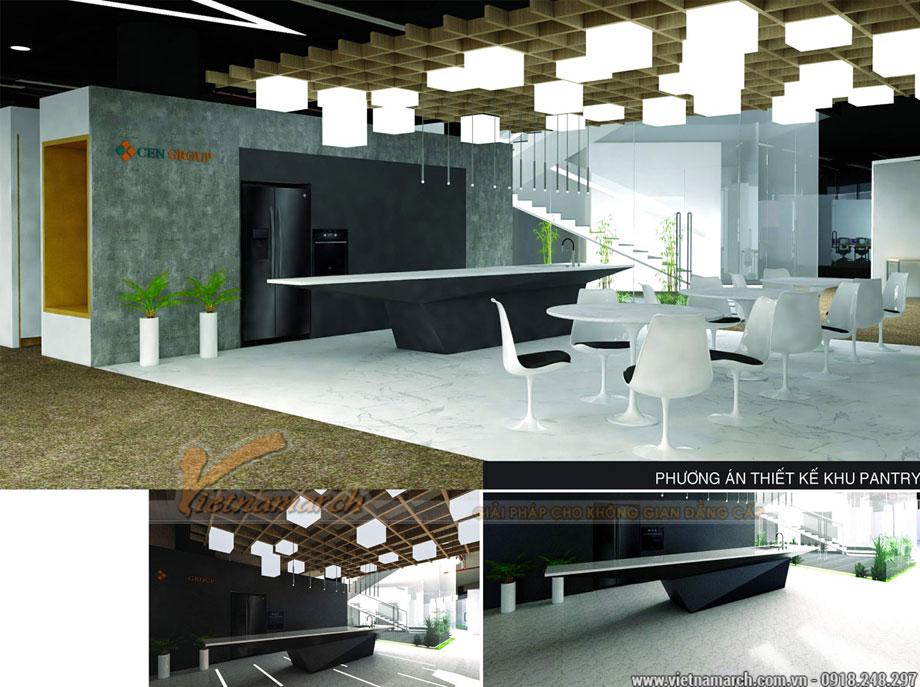 Thiết kế nội thất văn phòng 2000m2 tại Mỹ Đình - Cenxspace
