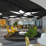 Phương án thiết kế văn phòng 1000m2 – Up VPbank Coworking space
