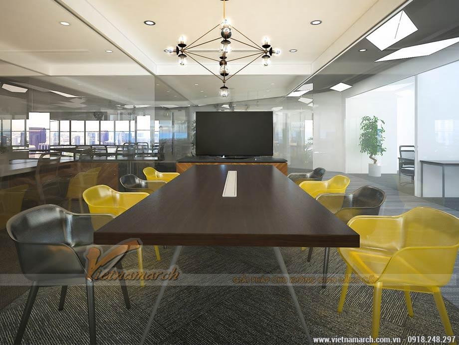 Thiết kế văn phòng tòa nhà VP Bank 89 Láng Hạ