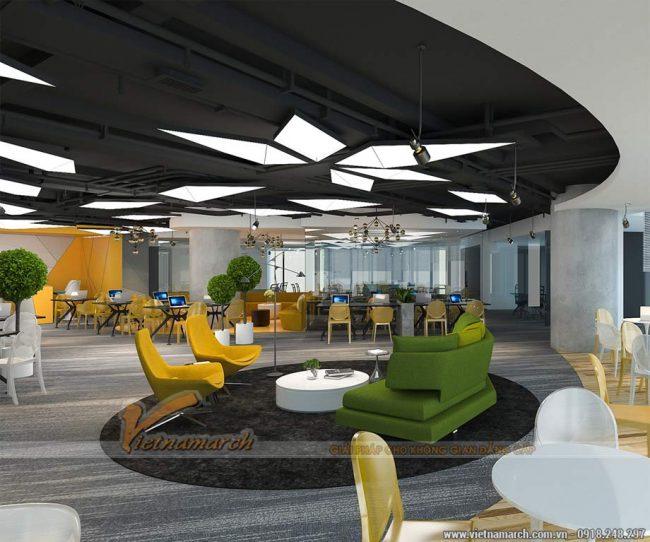Thiết kế văn phòng 1000m2 - Up VpBank coworking space