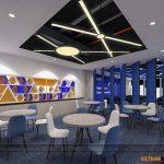 [PA3] Dự án thiết kế văn phòng 180m2 tại Mỹ Đình hiện đại – Golden Net Office