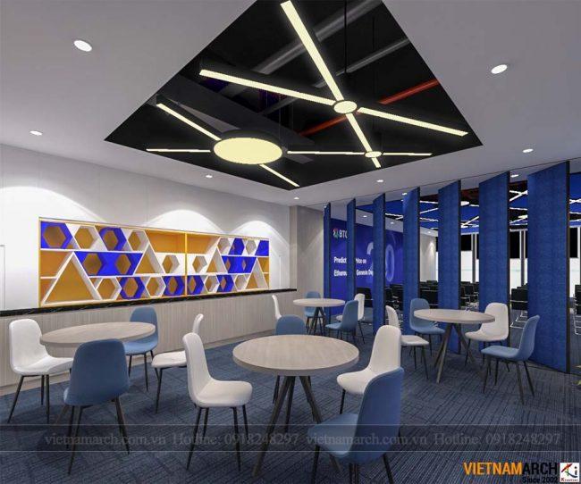 Thiết kế văn phòng 180m2