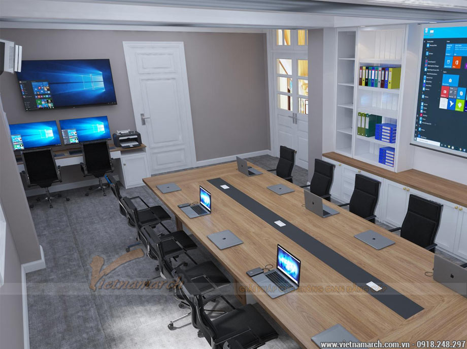Thiết kế văn phòng tại Ba Đình