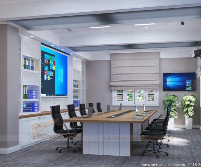 thiết kế văn phòng tại Ba Đình tiết kiệm chi phí - Văn phòng đại sứ quán Singapore