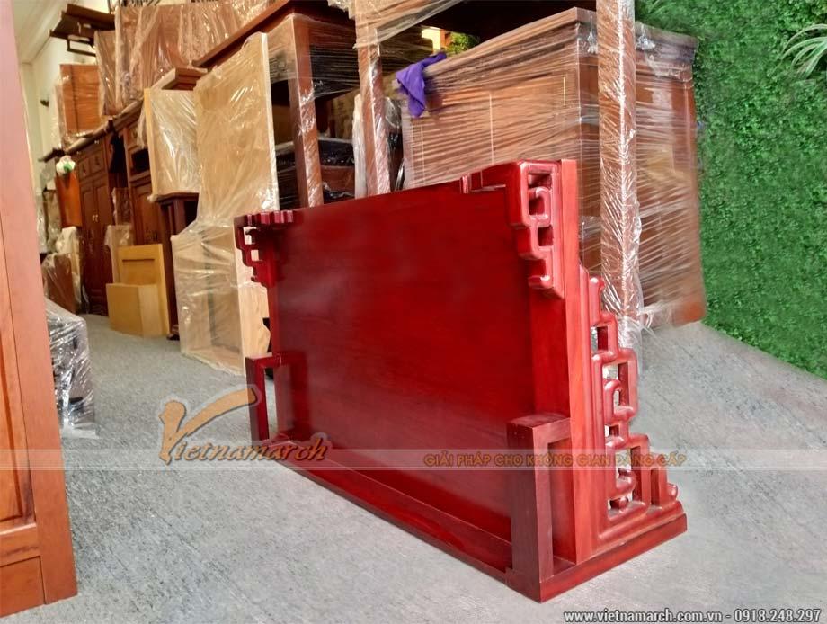 Bàn thờ treo gỗ hương 48x89 cm