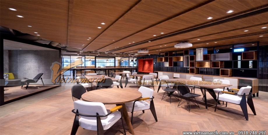 Thiết kế không gian làm việc nhóm với mô hình Clubhouse