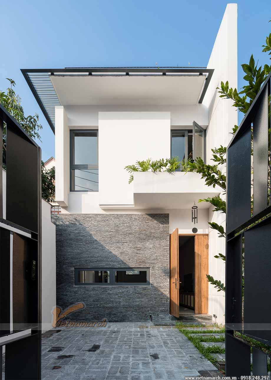 Thiết kế nhà phố 3 tầng 5x20m đẹp