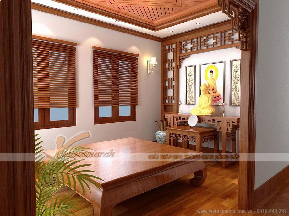 Đặt bàn thờ ở nơi yên tĩnh trong nhà