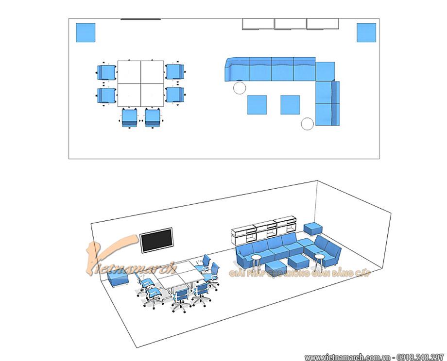 Thiết kế Không gian làm việc nhóm workshop