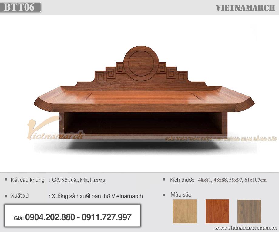 Bàn thờ Phật treo tường