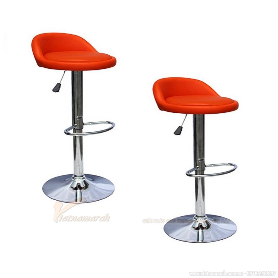 Ghế quầy bar chân tròn