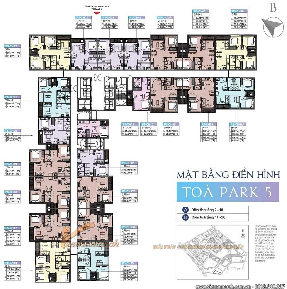 Mẫu thiết kế căn hộ studio 33,5m2