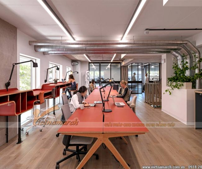 Mô hình coworking space hậu Covid 19