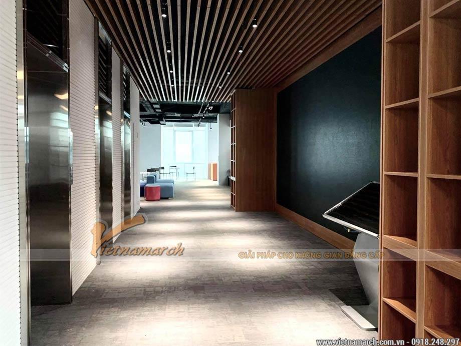 Thiết kế văn phòng 450 chỗ ngồi