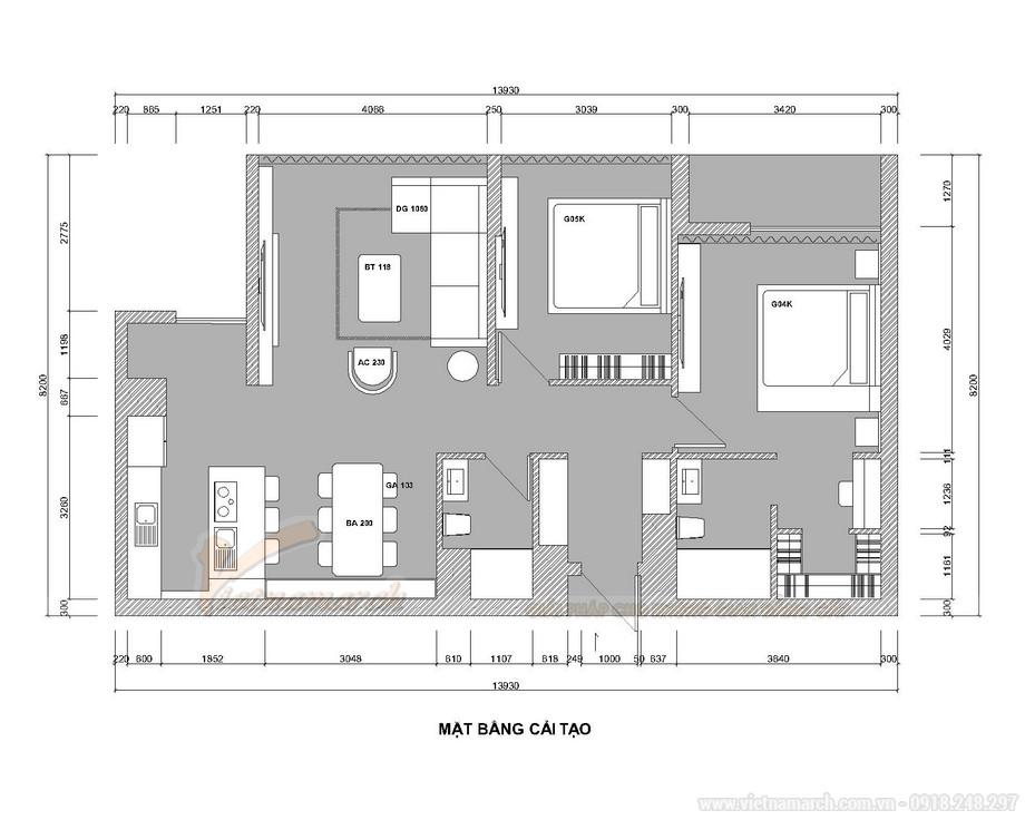 Chiêm ngưỡng mẫu nội thất căn hộ 2 phòng ngủ Starlake Tây Hồ