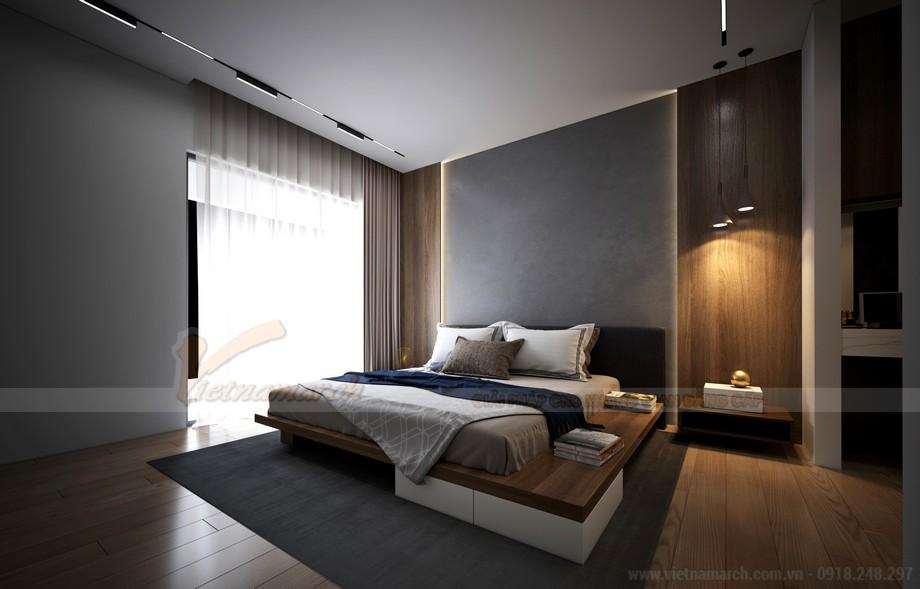 Thiết kế phòng ngủ căn hộ chung cư 2 phòng ngủ Starlake Tây Hồ