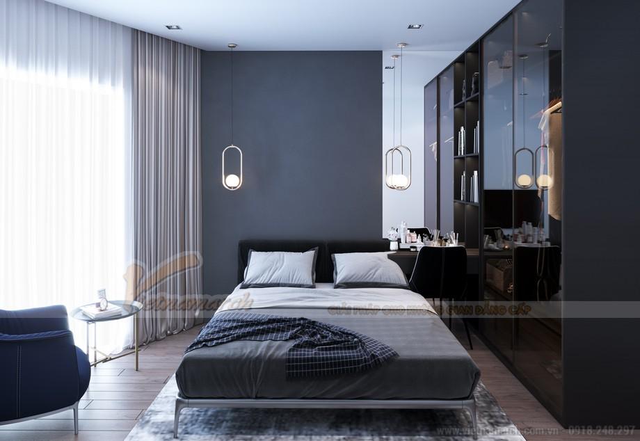 Thiết kế phòng ngủ chung cư Tháp Doanh Nhân