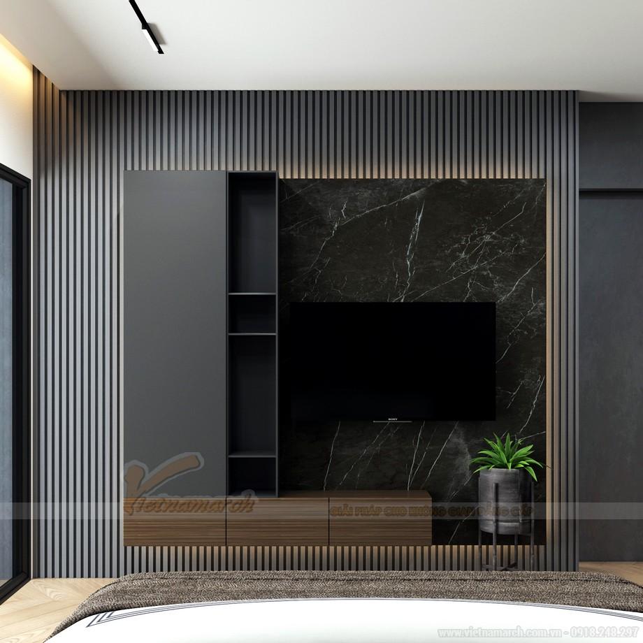Thiết kế nội thất phòng ngủ chung cư 3 ngủ