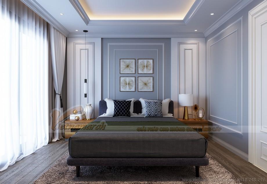 Thiết kế nội thất phòng ngủ căn hộ Five Star West Lake