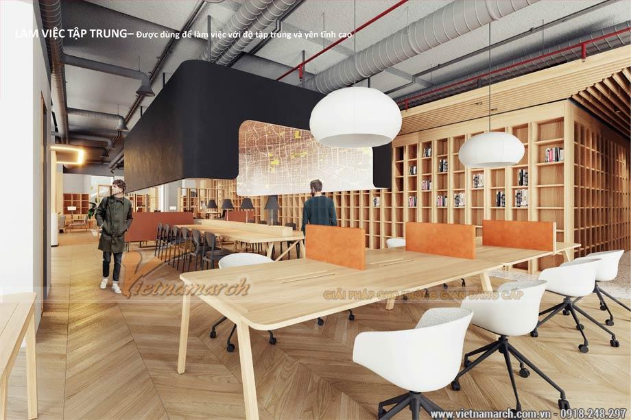 Thiết kế văn phòng 2200m2