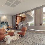 Phương án thiết kế văn phòng 2200m2  – văn phòng Bộ kế hoạch và Đầu tư