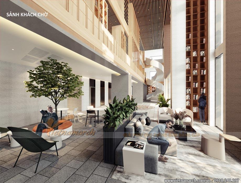 Thiết kế văn phòng 2200m2 - văn phòng Bộ kế hoạch và Đầu tư