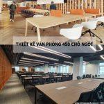 Thiết kế văn phòng 450 chỗ ngồi tại số 7 Tôn Thất Thuyết – Cầu Giấy – Hà Nội