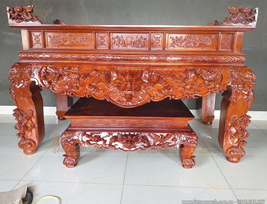 Mẫu bàn thờ bác hồ