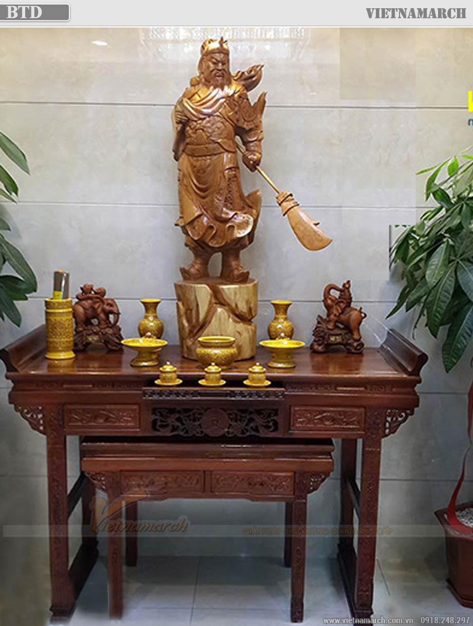 Có nên thờ Quan Công chung với Phật