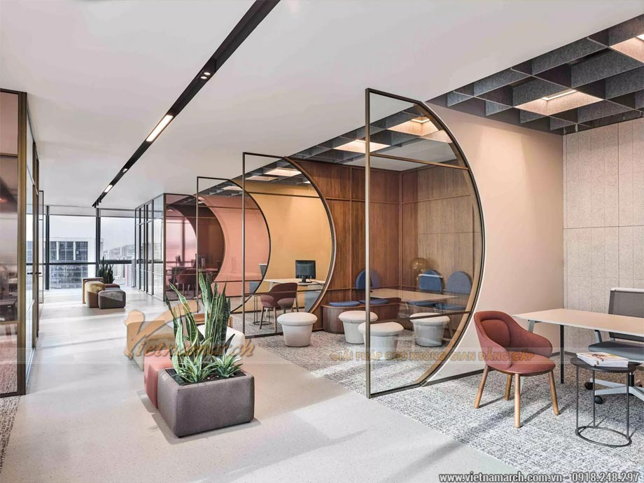 Các loại gỗ công nghiệp trong thiết kế nội thất văn phòng