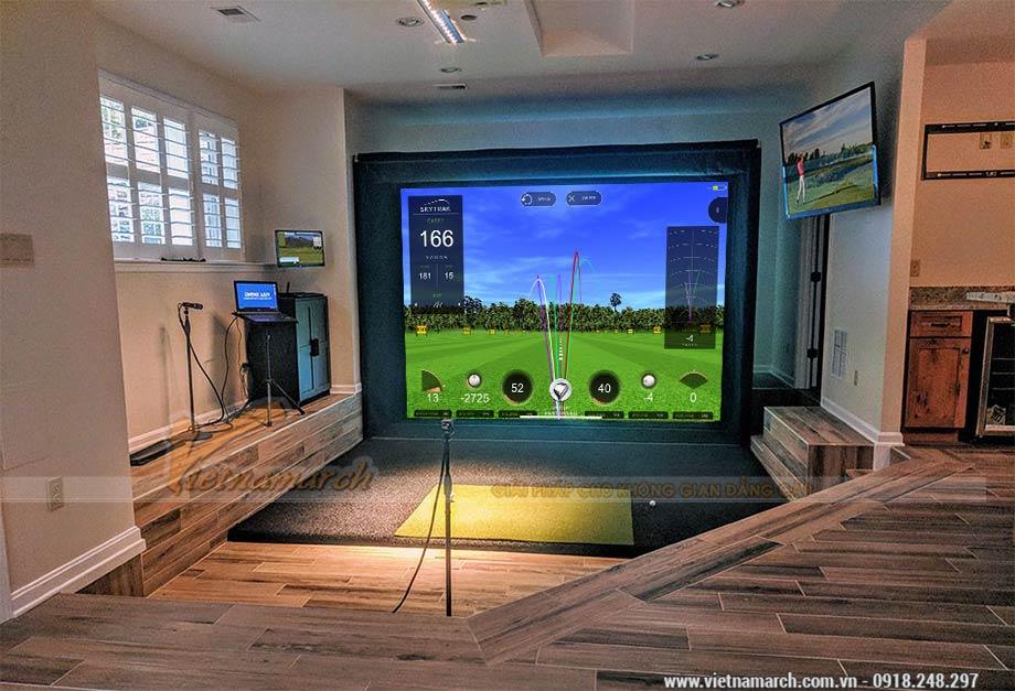 Golf 3D Skytrack