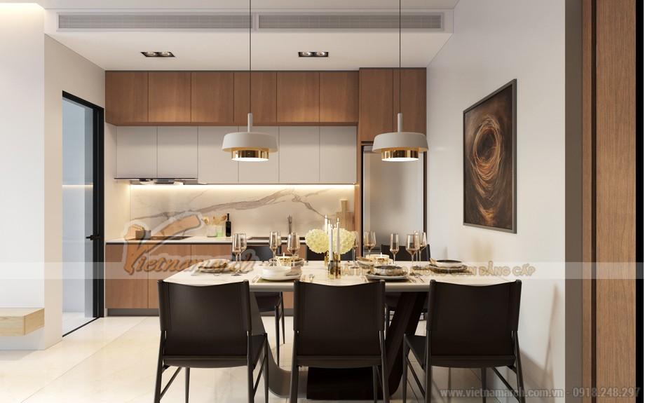 Thiết kế nội thất phòng bếp ăn