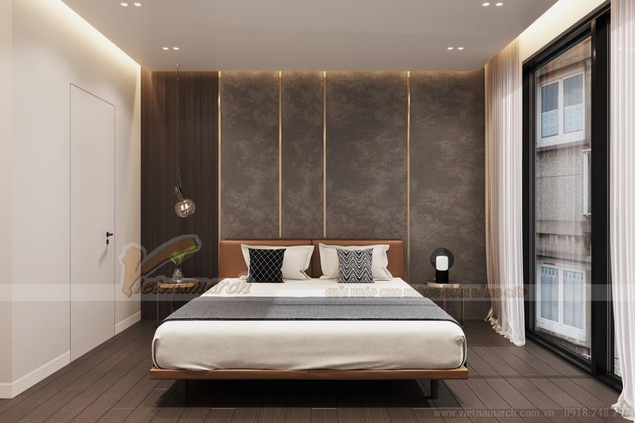 Thiết kế nội thất phòng ngủ căn hộ King Palace Nguyễn Trãi
