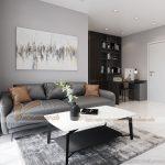 Cải tạo nội thất chung cư 2 phòng ngủ đẹp đẳng cấp với mức chi phí bất ngờ