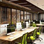 Thiết kế nội thất văn phòng ở Nha Trang cho phòng làm việc