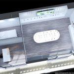 Thiết kế showroom mỹ phẩm Deawoo hiện đại và chuyên nghiệp!