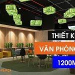 Dự án thiết kế văn phòng 1200m2 tại Thanh Xuân – Hà Nội